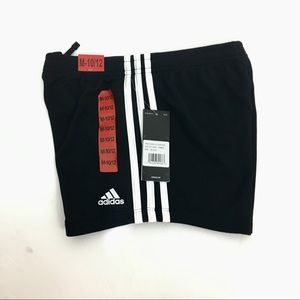 Adidas Girls Sports Mesh Shorts Size Medium 10/12